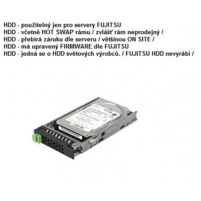 FUJITSU HDD SRV HD SAS 12G 600GB 10K 512n HOT PL 2.5' EP pro RX2520M4