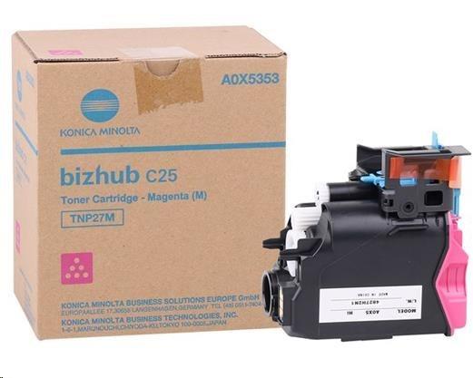 Minolta Toner TNP-27M, purpurový do bizhub C25 (6k)