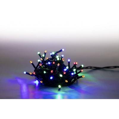 Marimex Řetěz světelný 100 LED 5 m - barevný - zelený kabel