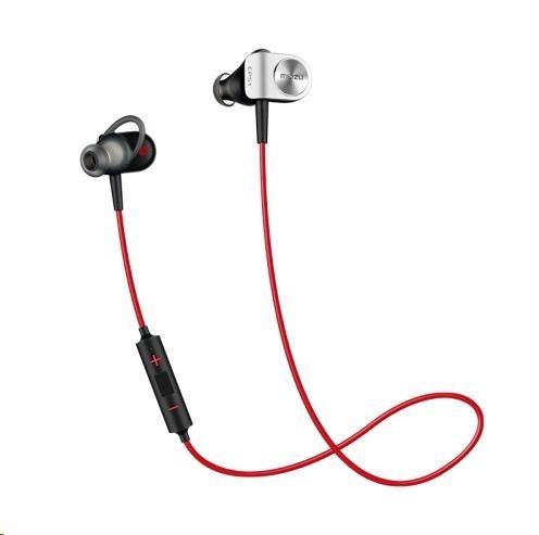 MEIZU sportovní bluetooth sluchátka EP51, černo-červená