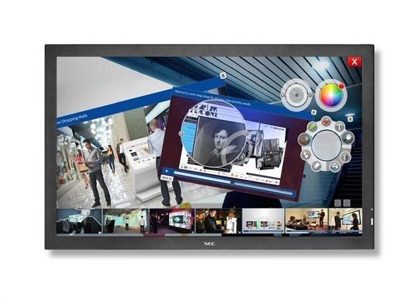 "NEC LFD 80"" MuSy E805 SST Touch LCD UV2A LED,1920 x 1080,350cd,4ms,DVI+VGA+HDMI+DP"