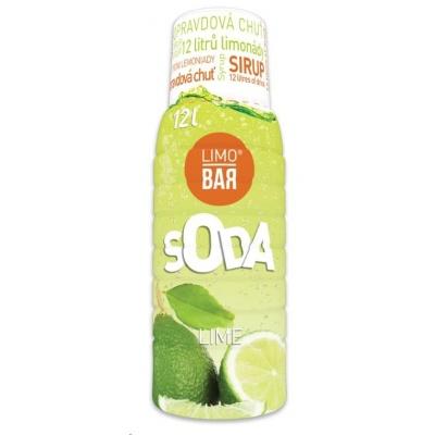 LIMO BAR - sirup Lime 0,5l