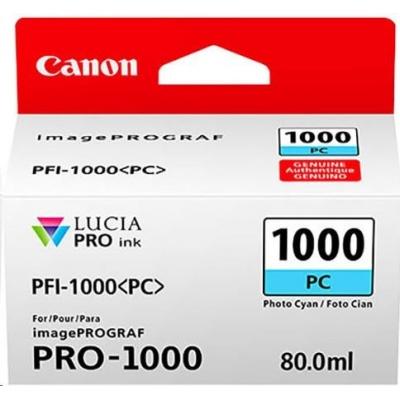 Canon BJ PFI-1000 PC (Photo Cyan Ink Tank)