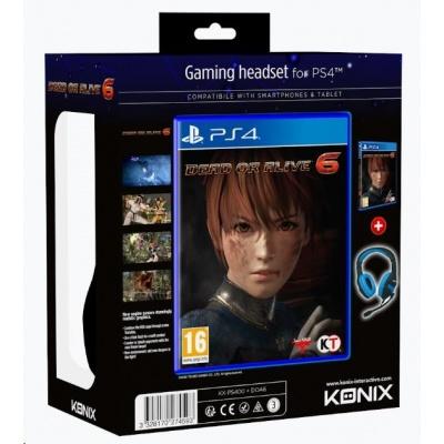 PS4 hra Dead or Alive 6 - Konix Bundle