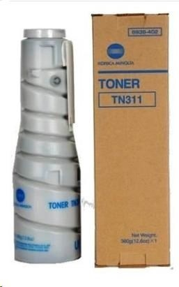 Minolta Toner TN-311, černý do bizhub 200, 222, 250, 282, 350, 362