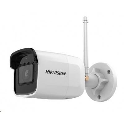 HIKVISION IP kamera 4Mpix, max.25sn/s, obj.2,8mm (100°), IR 30m, DC 12V, Wi-Fi, audio, microSD,  H.264(+),H.265(+), IP66