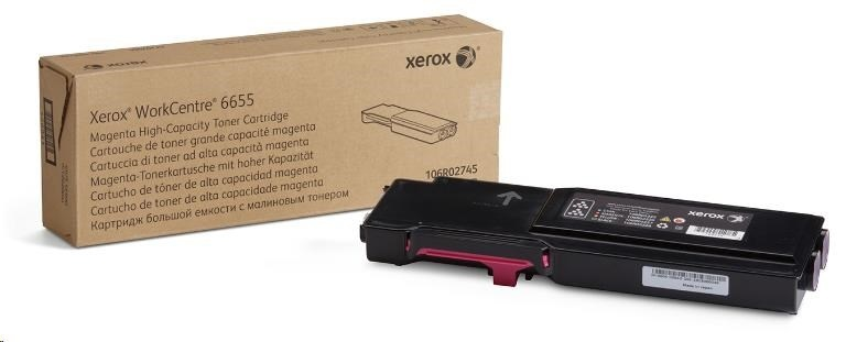 Xerox toner pro WorkCentre 6655 high capacity Magenta cartridge (7500str, magenta)