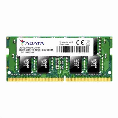 SODIMM DDR4 8GB 2666MHz CL19 (KIT 2x4GB) ADATA Premier memory, 512x16, Dual