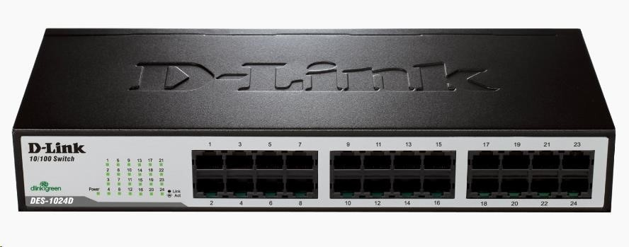 D-Link DES-1024D 24-port 10/100 Desktop / Rackmount Switch