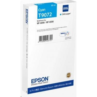 EPSON Ink bar WorkForce-WF-6xxx Ink Cartridge Cyan XXL 69 ml