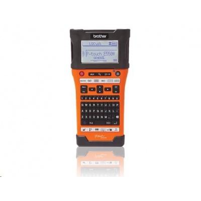BROTHER tiskárna štítků PT-E550WVP  - 24mm, pásky TZe, mobilní, Průmyslová Tiskárna Štítků - popisovač