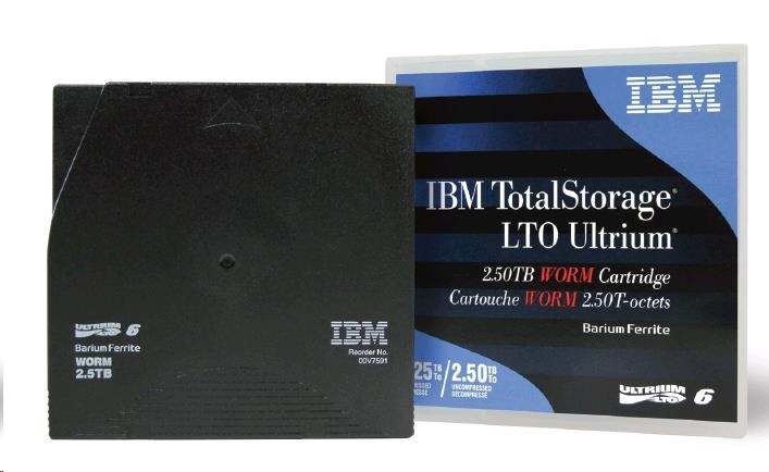 IBM LTO6 Ultrium 2,5/6,25TB WORM