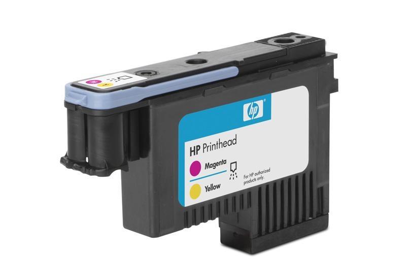 HP 91 Magenta + Yellow DJ Printhead, C9461A