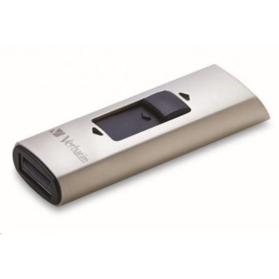 VERBATIM Flash Drive 128GB Store 'n' Go, SSD Vx400, USB 3.0, stříbrná