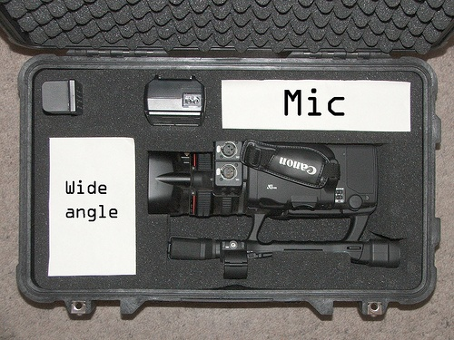 Canon HC-4200 hliníkový kufr