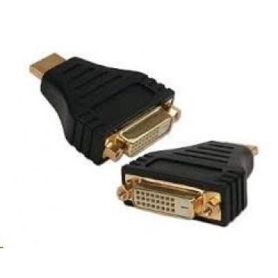 GEMBIRD Kabel redukce HDMI Male na DVI Female (zlacené kontakty, čený)