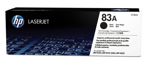 HP 83A Black LJ Toner Cart, 1500 str., CF283A