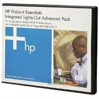 HP SW ILO Advanced Pack for BladeSystem, No Media, 1srv lic., 1y 24x7 Techn. Supp&Updates