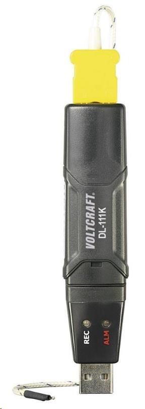 CONRAD Teplotní datalogger Voltcraft DL-111K USB, typ K