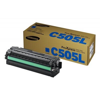 Samsung CLT-C505L H-Yld Cyan Toner Cr
