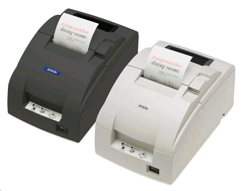 EPSON TM-U220D-002 serial, bílá, zdroj, bez řezačky