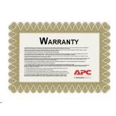 APC 1 Year Extended Warranty for Smart-UPS RT 15/20kVA