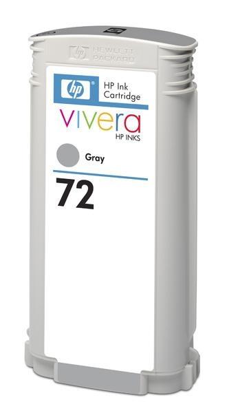 HP 72 Grey DJ Ink Cart, 130 ml, C9374A