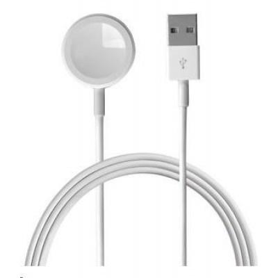 4smarts nabíjecí kabel VoltBeam Mini pro Apple Watch, 2,5W, délka 2m, bílá