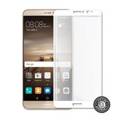 ScreenShield ochrana displeje Tempered Glass pro Huawei Mate 9, kovový rámeček, bílá
