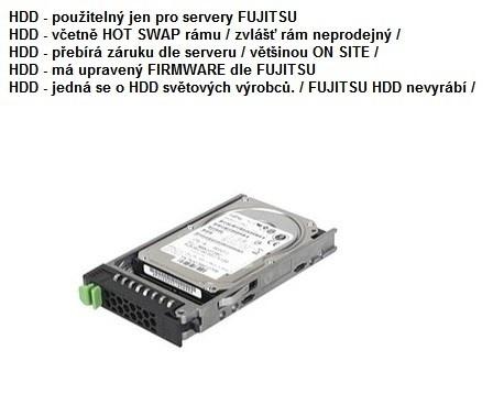 FUJITSU HDD SRV HD SATA 6G 1TB 7.2K 512n HOT PL 2.5' BC pro RX2520M4