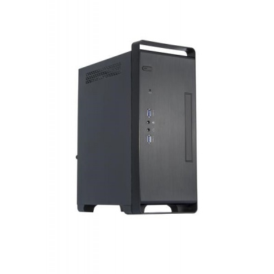 CHIEFTEC skříň Elox Series/mini ITX, BT-04B-U3 (2 x PCI slots), Black, SFX 250W