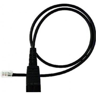 Jabra kabel QD -> RJ9, rovný 0,5 m