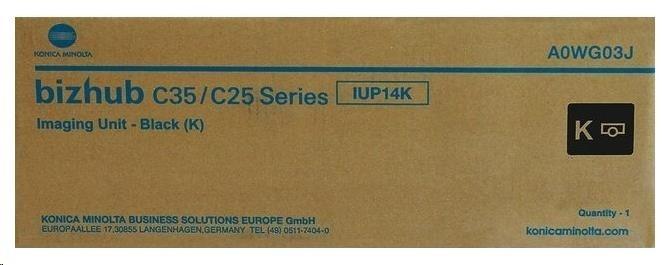 Minolta Zobrazovací jednotka IUP-14K. černá do bizhub C25, C35(P)