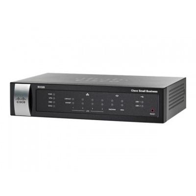 Cisco VPN Router RV320, 4x GE LAN + 2xWAN, REFRESH