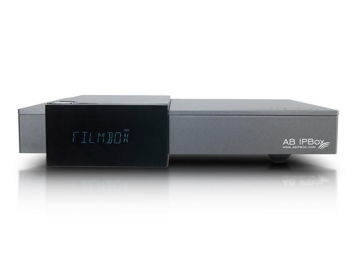 AB-COM AB IPBox PRISMCUBE RUBY (1xčítačka, 1xCI slot, 2x DVB-S2, VFD displej, HDMI, USB, LAN, Wi-Fi, Mediaplayer)