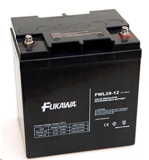 Baterie - FUKAWA FWL 28-12 (12V/28 Ah - M5) SLA baterie, životnost 10let
