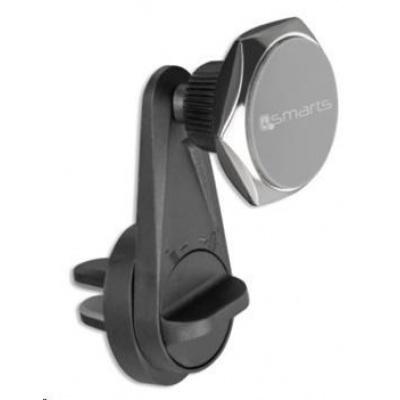 4smarts univerzální magnetický držák do auta UltiMAG CLAMPMAG PLUS do mřížky ventilátoru, černá
