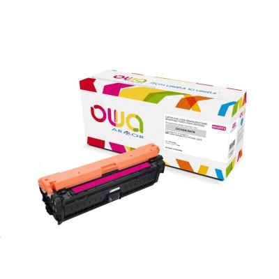 OWA Armor toner pro HP Color Laserjet CP5220, 5225, 7300 Stran, CE743A, červená/magenta