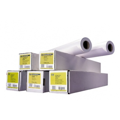 HP Special Inkjet Paper-610 mm x 45.7 m (24 in x 150 ft),  4.3 mil,  90 g/m2, 51631D