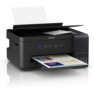 EPSON tiskárna ink L4150, 3in1, CIS, A4, 33ppm black, 4ink, USB, Wi-Fi, EPSON connect, Tank system
