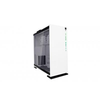 IN WIN skříň 303C, White, Mid Tower, bez zdroje, RGB + Front USB 3.1 type C