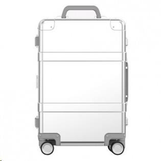 90 Points Metal Luggage 20'' (Silver)