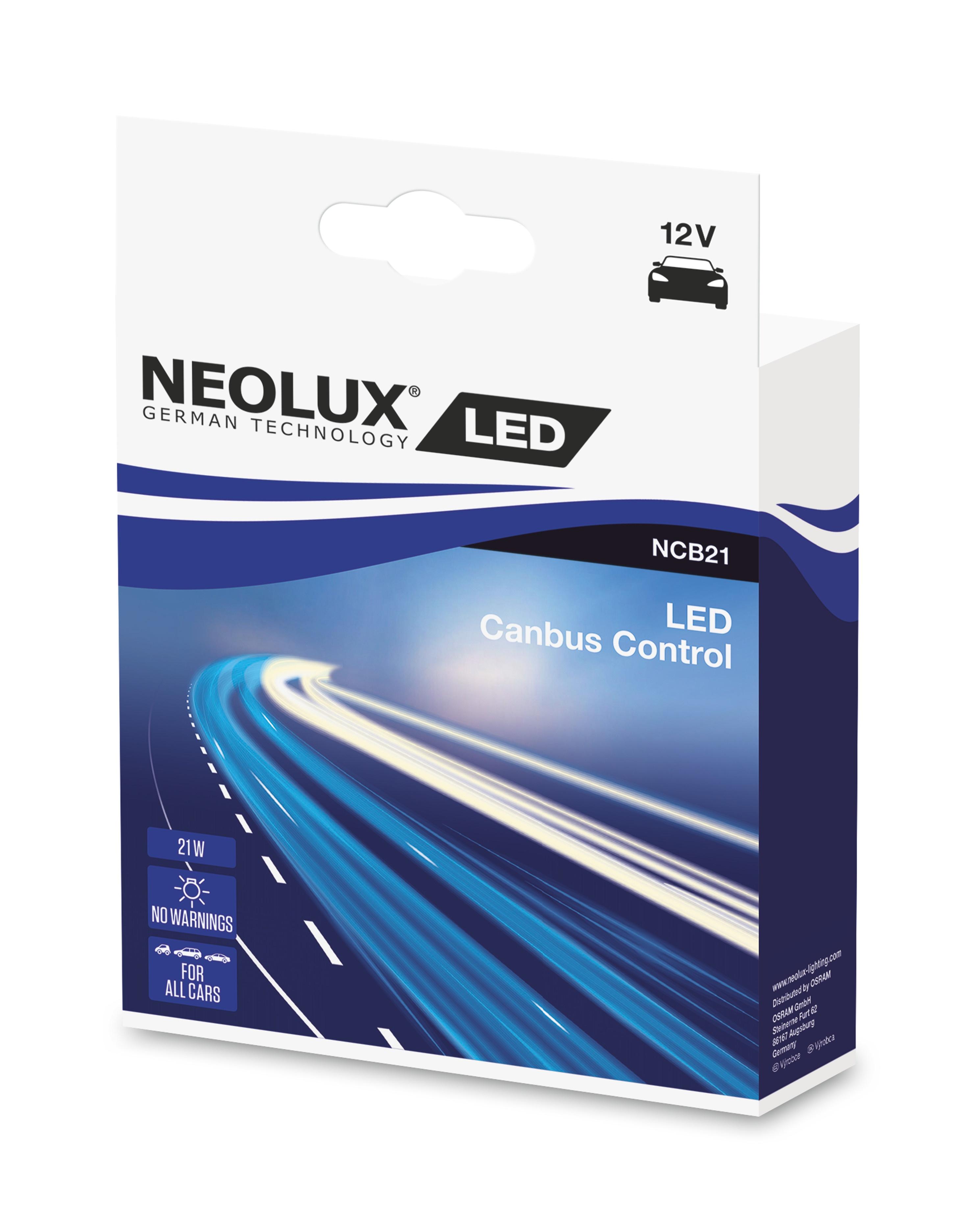 NEOLUX autožárovka  CANBUS 12V 21W  (Duo-Box)