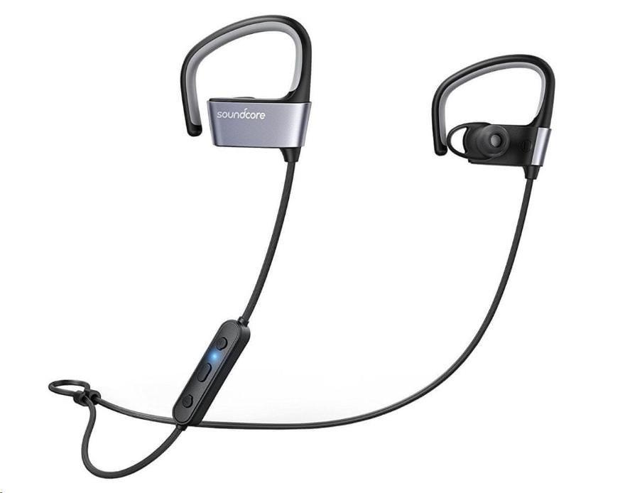 Anker SoundCore ARC sportovní sluchátka, barva černá + šedá