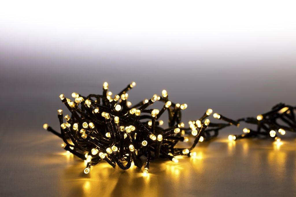 Marimex Řetěz světelný 200 LED dvojitý 2 m - teplá bílá
