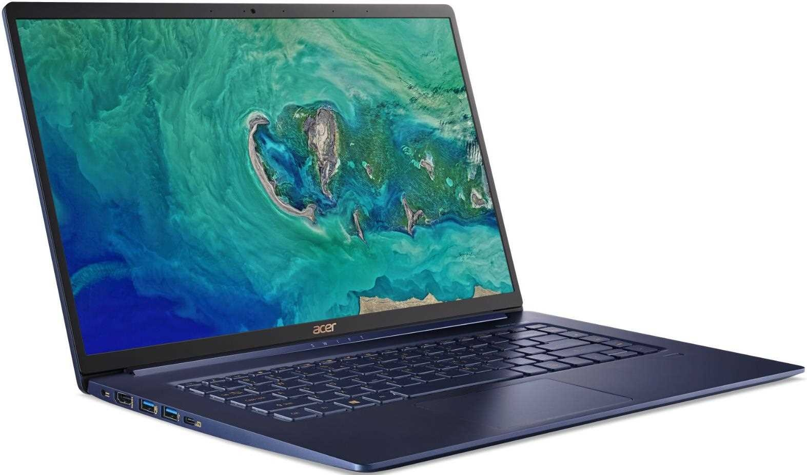 """ACER NTB Swift 5 Pro (SF515-51T-50XM) - i5-8265U@1.6GHz,15.6"""" FHD IPS in-cell touch,8GB,512SSD,backl,DP,W10P"""