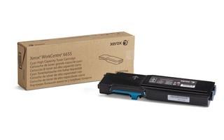 Xerox toner pro WorkCentre 6655 high capacity Cyan cartridge (7500str, cyan)
