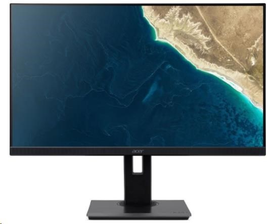 "ACER LCD B247YBMIPRZX - 23.8""(60cm), 100M:1, 250cd/m2, 178°/178°, 4ms, VGA, HDMI, USB, DP, black,3r on-site"