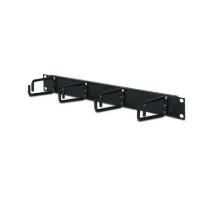 APC 1U Horizontal Cable Organizer Black