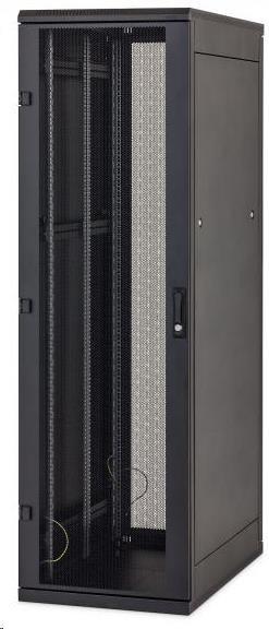 """TRITON 19"""" stojanový rozvaděč 22U/600x800, černý"""